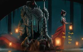 Картинка Монстры, Girl, Демон, Демоны, Monster, Арт, Art, Night, Vietnam, Demon, Левушка, Thi Nghi - Vietnamese's …
