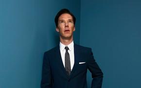 Картинка взгляд вверх, Британский актёр, Бенедикт Камбербэтч, Benedict Cumberbatch, костюм