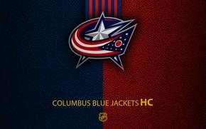 Картинка wallpaper, sport, logo, NHL, hockey, Columbus Blue Jackets
