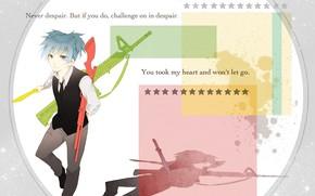 Картинка оружие, парень, Класс убийц, Нагиса, Shiota Nagisa