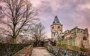 Обои Германия, Замок Франкенштейн, Дармштадт