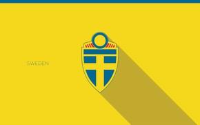 Картинка wallpaper, sport, logo, Sweden, football