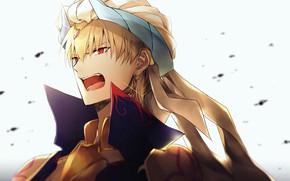Картинка парень, Гильгамеш, Fate / Grand Order
