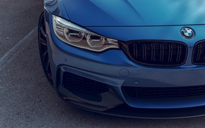 Картинка BMW, Blue, F82, Adaptive LED