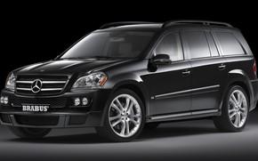 Картинка Mercedes-Benz, Brabus, X164, GL-класс, полноразмерный SUV премиум сегмента