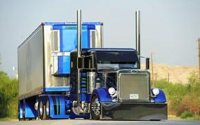 Картинка Tuning, Truck, Peterbilt, Vehicle