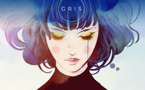 Картинка Girl, Game, Gris