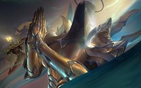 Картинка Diablo III, Auriel, молитвенный жест