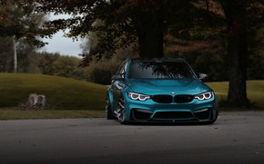 Картинка BMW, Light, Blue, Evening, F80, Sight