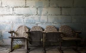Картинка фон, стена, кресла