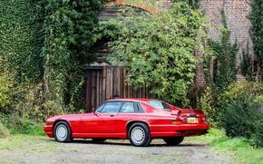 Картинка Red, Supercar, Classic car, Jaguar XJR-S