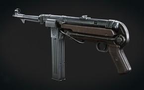 Картинка Германия, MP 40, Пистолет-пулемёт, Спарка магазинов
