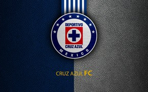 Картинка wallpaper, sport, logo, football, Cruz Azul