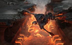 Картинка Стальной гигант, The Iron Giant, Первому игроку приготовиться, Valentin Petrov, научно-фантастический приключенческий фильм, Ready player …