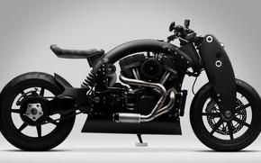 Картинка мотоцикл, байк, motorcycle, superbike, Confederate R135 Wraith Combat Limited Edition