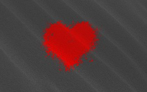 Картинка сердце, пятно, празник