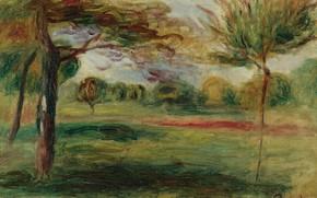 Картинка картина, ПЕЙЗАЖ, Пьер Огюст Ренуар, Pierre Auguste Renoir