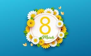 Картинка цветы, весна, 8 марта, женский день