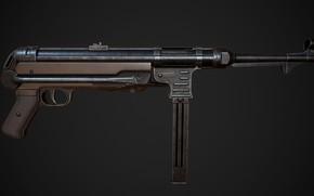 Картинка Германия, MP 40, Пистолет-пулемёт