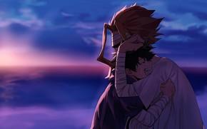 Картинка двое, Boku No Hero Academia, Мидория Изуку, Моя Геройская Академия, Всемогуший