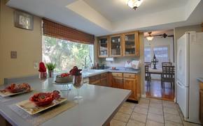 Картинка интерьер, кухня, столовая, Chandler, Boston Street