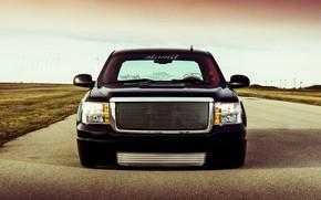 Картинка Pickup, Custom, Low, Sierra 1500, Gmc