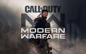 Картинка шляпа, шутер, Call of Duty: Modern Warfare, Заглавный арт, ребут, перезапуск