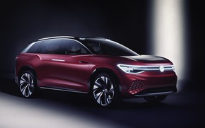 Картинка Volkswagen, кроссовер, 2019, ID Roomzz, Roomzz