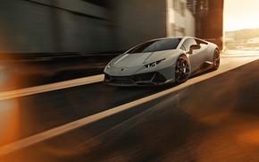 Картинка Lamborghini, EVO, 2020, Lamborghini Huracan EVO, Novitec Lamborghini Huracán EVO