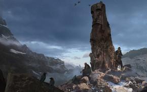 Картинка викинги, Odin, Blake Rottinger