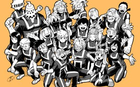 Картинка персонажи, My Hero Academia, Boku No Hero Academia, Моя Геройская Академия