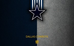Картинка NFL, Dallas Cowboys, sport, wallpaper, logo