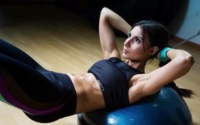 Картинка фигура, фитнес, пресс, pose, спортзал, тренировка, workout, fitness, gym, training, abs, атлетичная, training ball, hard …
