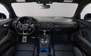Картинка Audi, салон, Coupe, TT RS, 2019