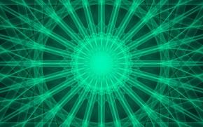 Картинка линии, круги, узор, калейдоскоп