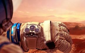Картинка Часы, наручные часы, Константин Чайкин, Konstantin Chaykin, Mars Conqueror, часы с марсианским временем, Konstantin Chaykin …