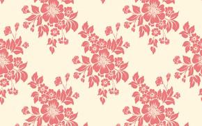 Картинка цветы, текстура, background, pattern, seamless