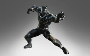 Картинка art, marvel, black panther, Marvel Ultimate Alliance 3, The Black Order, t'challa