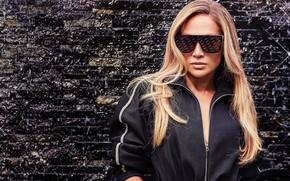 Картинка волосы, очки, Jennifer Lopez, Sunglasses, Дженифер Лопес
