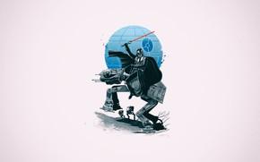 Картинка Star Wars, Darth Vader, Звездные Войны, AT-AT, Звезда Смерти, Lord Vader, by Vincenttrinidad, Vincenttrinidad, by …