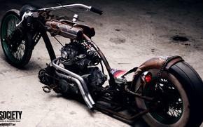 Картинка Chopper, Bike, Custom, Motorbike