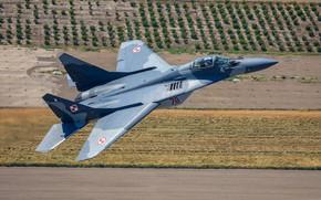 Обои многоцелевой истребитель, МиГ-29А, ВВС Польши