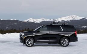 Картинка вид сбоку, GMC, SUV, Denali, Yukon, 2020