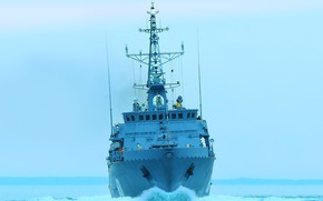 Картинка корабль, Балтика, Иван Антонов, противоминный