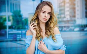 Картинка взгляд, Девушка, платье, Лиза, Efremov Sergey