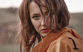 Картинка девушка, портрет, макияж, Кристина Карамышева