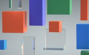 Картинка кубик, куб, объём