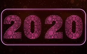 Картинка праздник, цифры, скоро, 2020