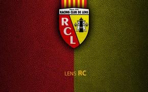 Картинка wallpaper, sport, logo, football, Ligue 1, RC Lens
