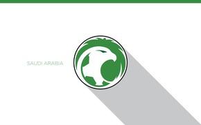 Картинка wallpaper, sport, logo, football, Saudi Arabia